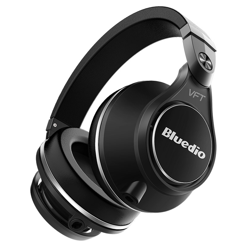 Original Bluedio UFO Plus High-End bluetooth headphone wireless headphones PPS12 drivers Headband with microphone music headset 100% original bluedio ht bluetooth headset with hd mic headband style bluetooth headphones for game