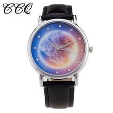 2016 New Style Starry Sky Watch Informal Leather-based Bracelet Ladies Quartz Watches Wristwatches Relogio Feminino Clock C30
