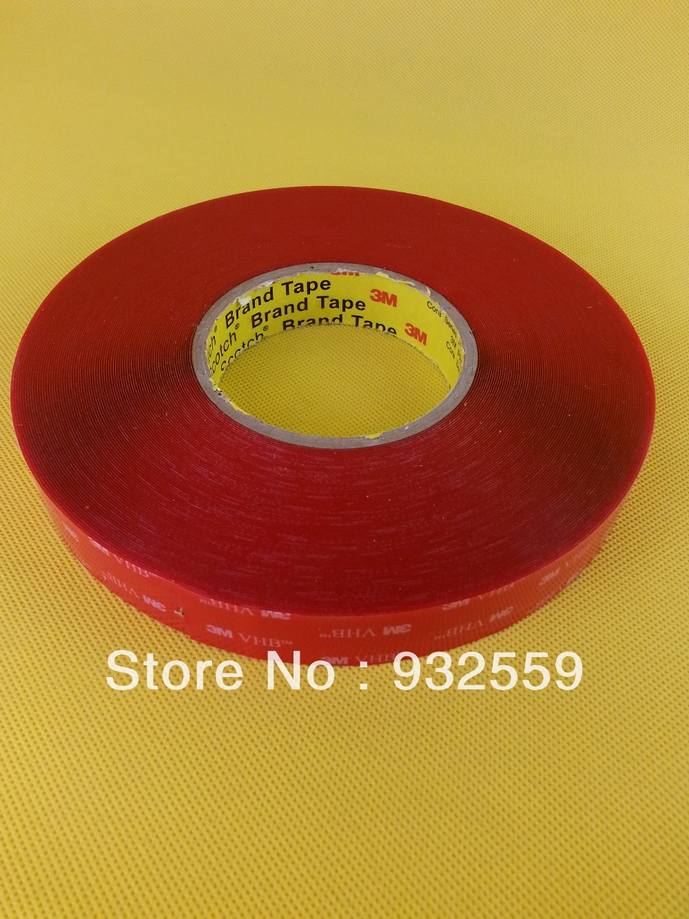 1 in X36YD 3M VHB tape 4905 Clear for glass doors/skylights,0.5mm,Free shipping for free shipping 323 sea fuxing 2 glass doors lifter qianmen elevator machine