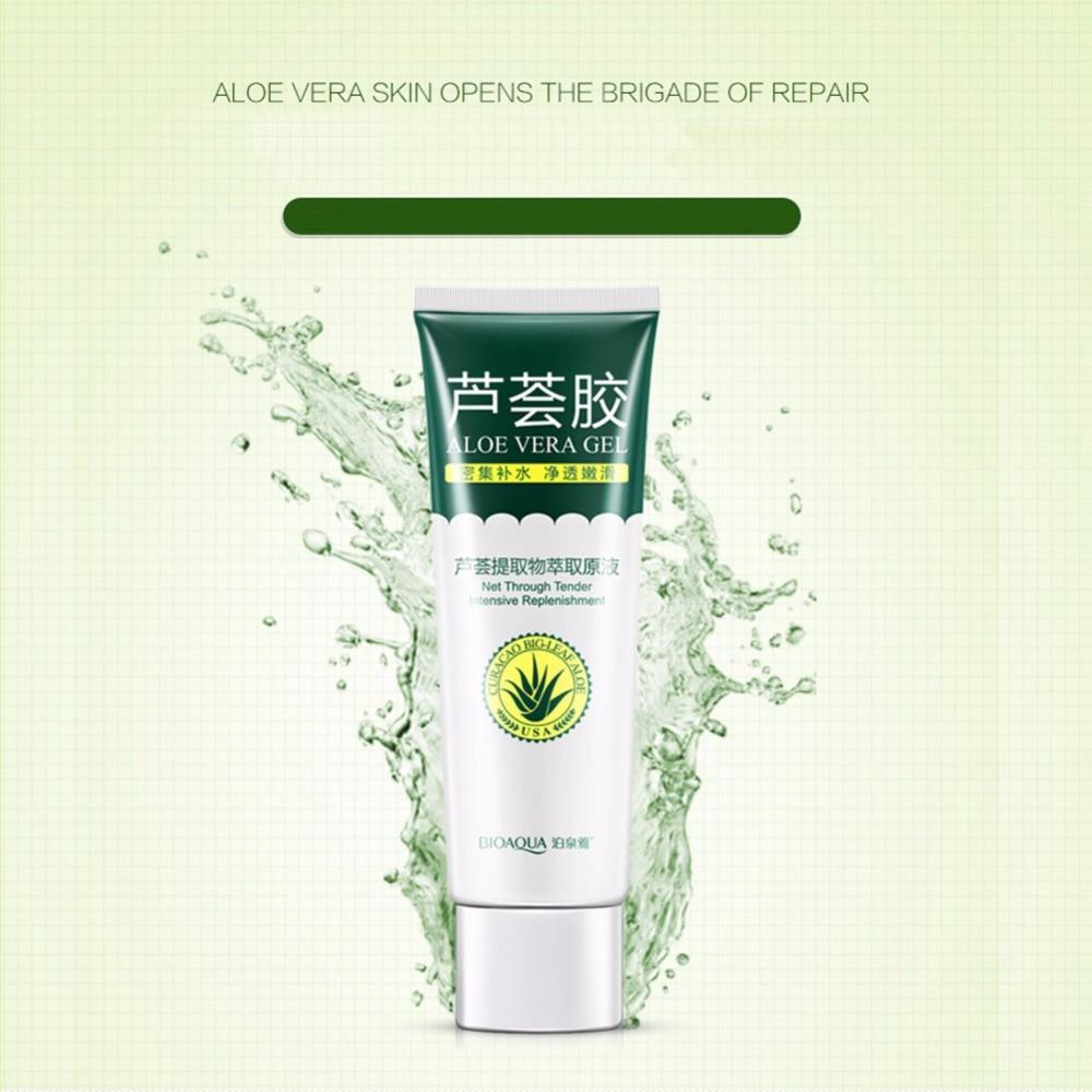 Aloe Vera Gel Skin Care Brand Bioaqua Face Cream Hyaluronic Acid Original Anti Winkle Whitening Moisturizing Acne Treatment In Facial Self Tanners Bronzers