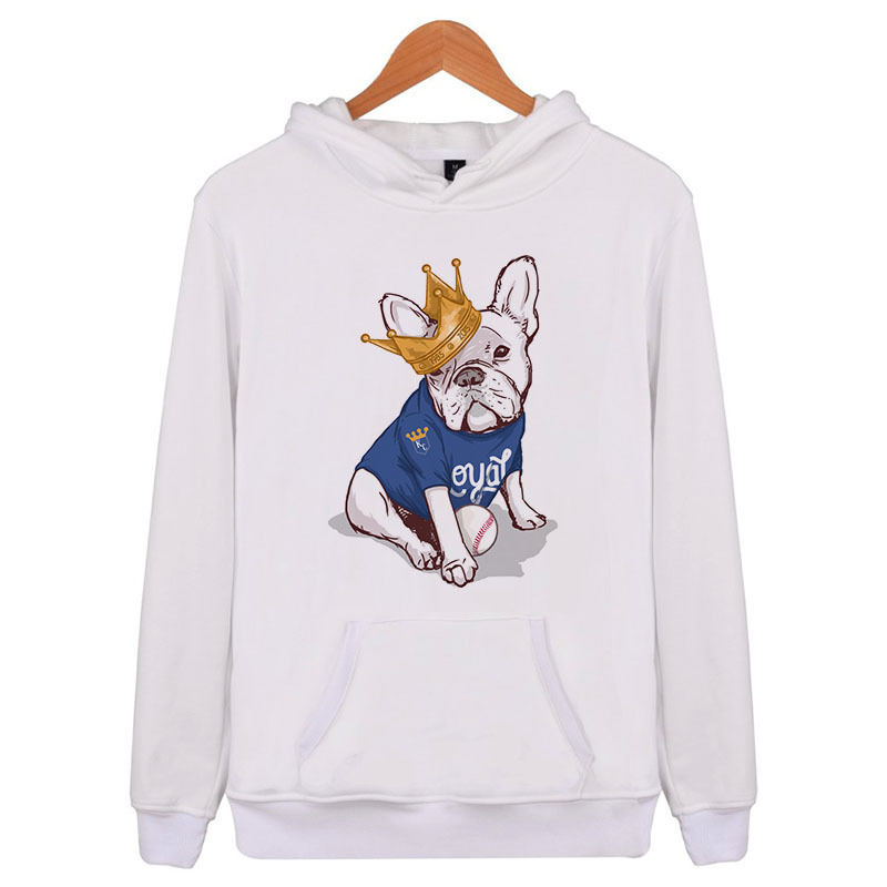 Fine French Bulldog 2018 New Fashion Mens Hoodies Brand Men Color Sweatshirt Male Hoody Hip Hop Autumn Hoodie Mens Pullover E4201 Carefully Selected Materials Men's Clothing