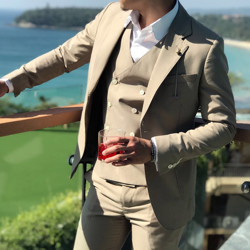 Khaki-men-s-slim-suit-groom-groomsman-prom-dress-wedding-3-piece-set-custom-high-quality (1)