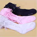 New 2016 Spring And Autumn And Winter Girls 2-10 Years Old Lace Bow Comfortable Cotton Girls The pantyhose Bottoming
