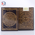 Brand New Theory11 Medallions Signature Deck Gold Embossed Box Poker Playing Cards Deck Magic Tricks