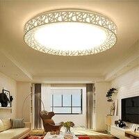 Модные Птичье светодио дный Гнездо Светодиодный потолочный светильник осветительное оборудование современный гостиная спальня кухня ван