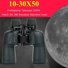 цена на New Military HD 10-30x50 BINOCULAR Professional Waterproof 10-30 times Hunting Zoom Telescope Quality Vision Eyepiece Binoculars