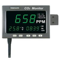 3in1 CO2/Temp/RH Monitor Carbon Dioxide Temperature and Humidity Logger TM 187