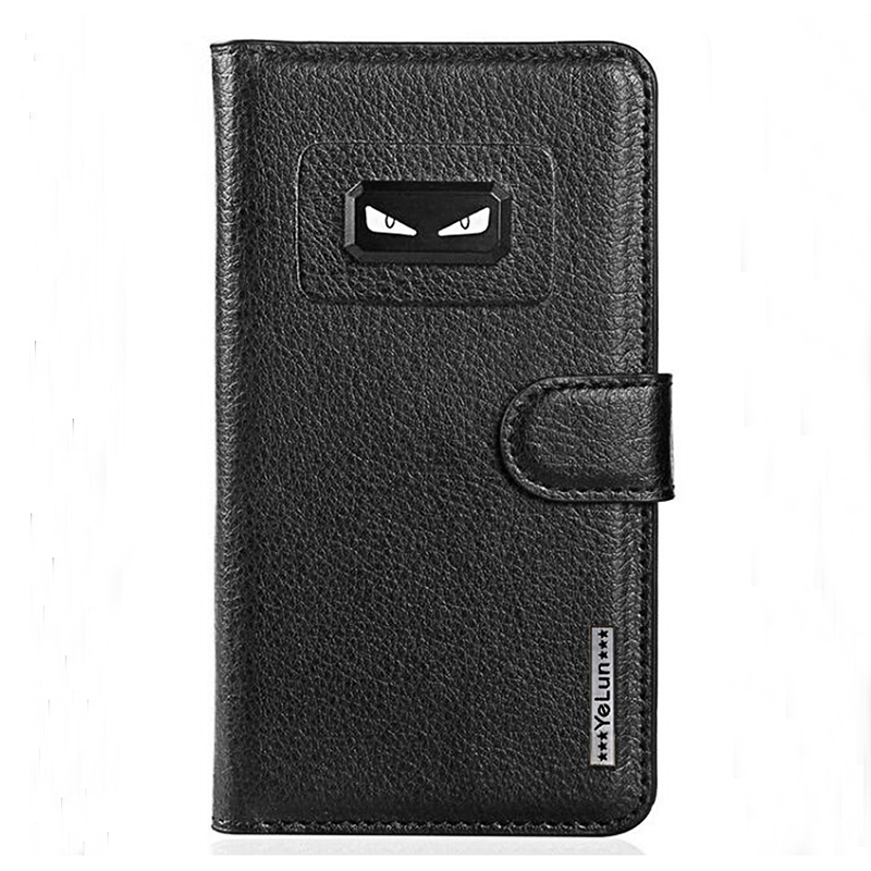 Yelun Wallet Coque For Google Pixel 2 Luxury Black Eyes PU Leather Flip Case For Pixel 2 XL Wallet Stand Cover With Card Holder