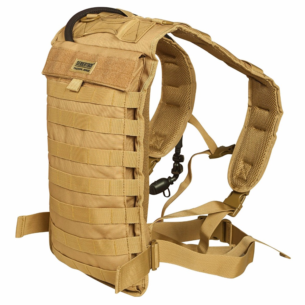 Tactical Molle Hydration Carrier Pack Ракета Running Running - Спорттық сөмкелер - фото 2