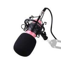 BM800 Mikrofon condensateur enregistrement sonore BM 800 Microphone avec support anti-choc pour Radio Braodcasting enregistrement chantant KTV karaoké