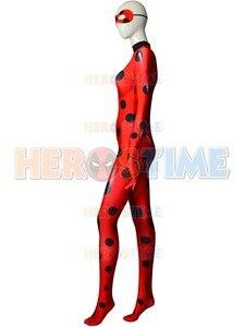 Image 4 - Vendita calda coccinella Costume qualità stampa 3D coccinella Costume Cosplay Spandex donna Zentai body