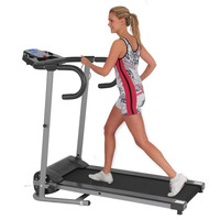 Motorized Treadmill With LCD Display Electrical Fitness Machine Running Exercise Machine Home Trainer Fitness Equipment