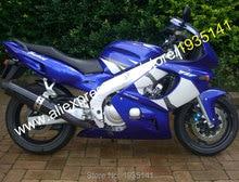 青白アフターマーケットバイクフェアリングセット 97-07 ホット販売、ヤマハ Yzf600R