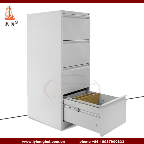 Promoting Metal Office Furniture CKD A4 File Folder Hanger Filing Cabinets  Grey Lockable Godrej 4 Drawer