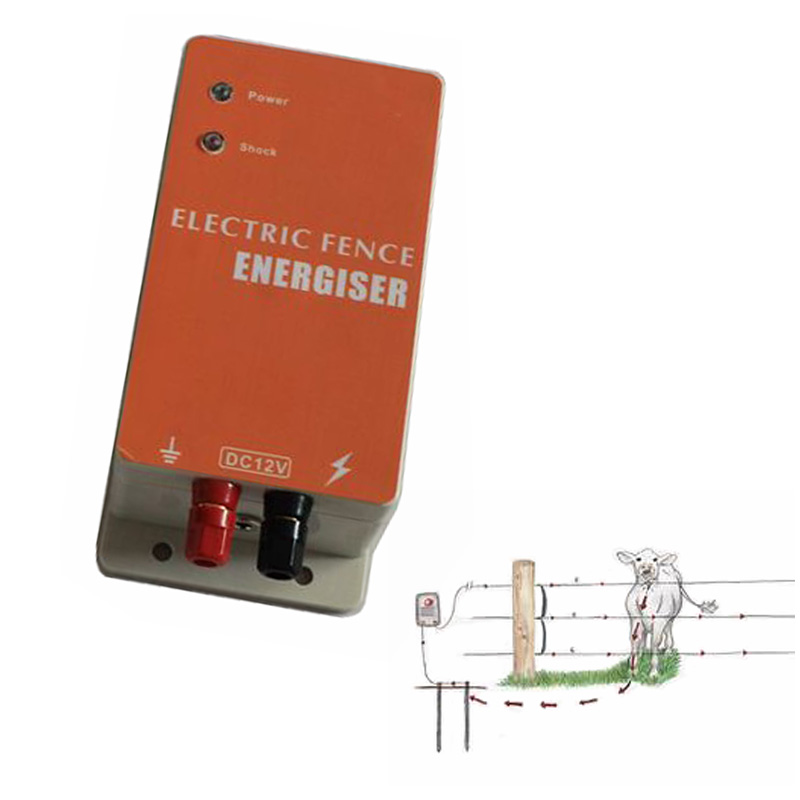 Dc 12v Solar Power Electric Fence Energizer Electric