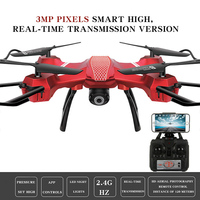 Drone Quadcopter 6-axis Grro Pocket 360 Graden Rolling Headless Modus Hover Functie USB Opladen Mini RC Helikopters met camer