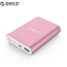 ORICO Q1 USB Portable External Battery 10400mAh Power Bank  Quick Charger QC 2.0 for Your Electric Device (Q1-BK)