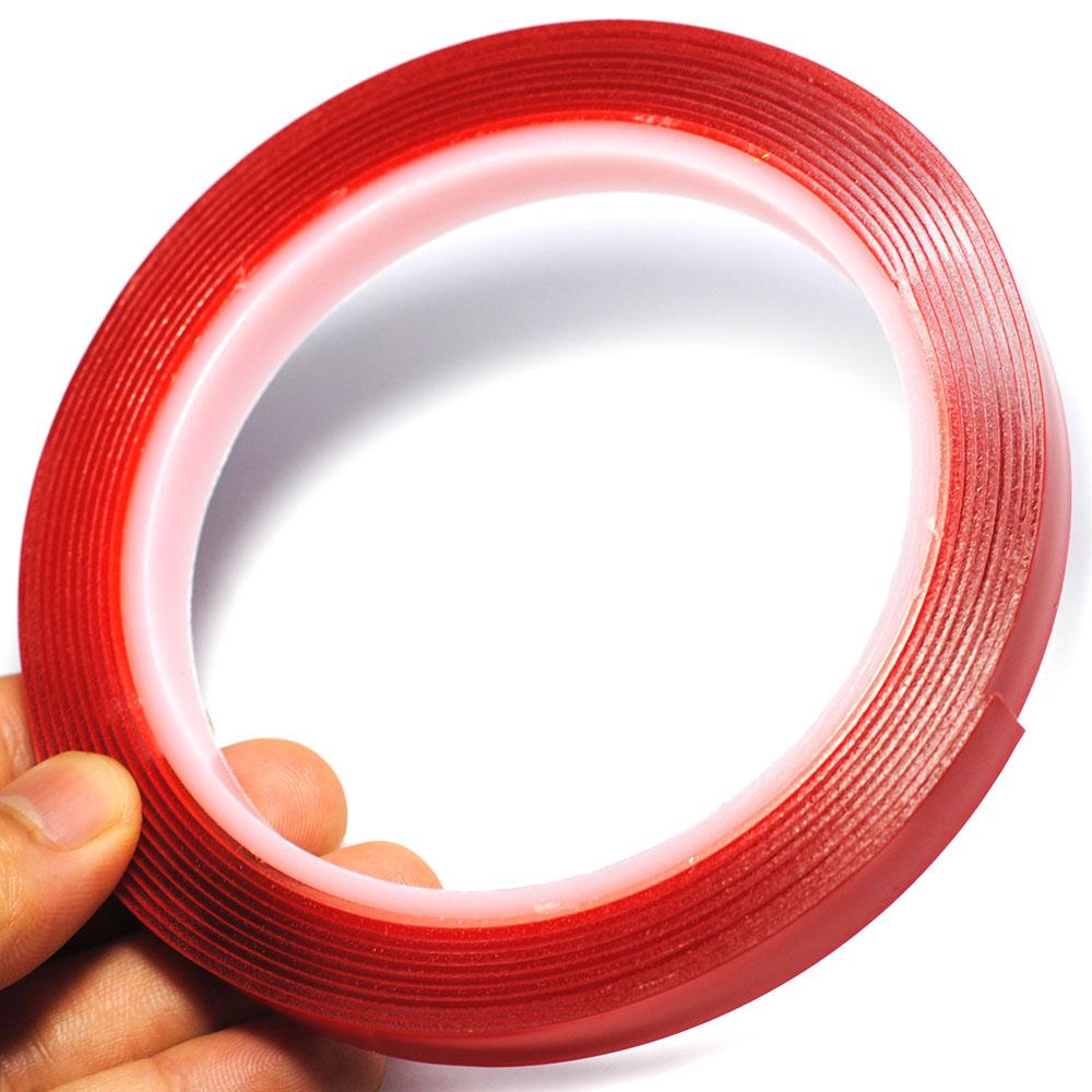 HTB1XtfJRFXXXXcpXVXXq6xXFXXXS - 1CM Width 3M Length Car Sticker Double Foam Faced Adhesive Tape Auto Glue Sticker Multi-functional Car Accessories Car-styling