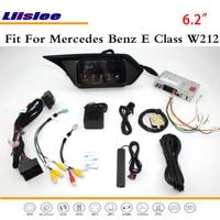 Liislee автомобиля Android мультимедиа для Mercedes Benz E Class W212 2009 ~ 2012 радио стерео CD dvd плеер gps Nav навигационная карта Системы