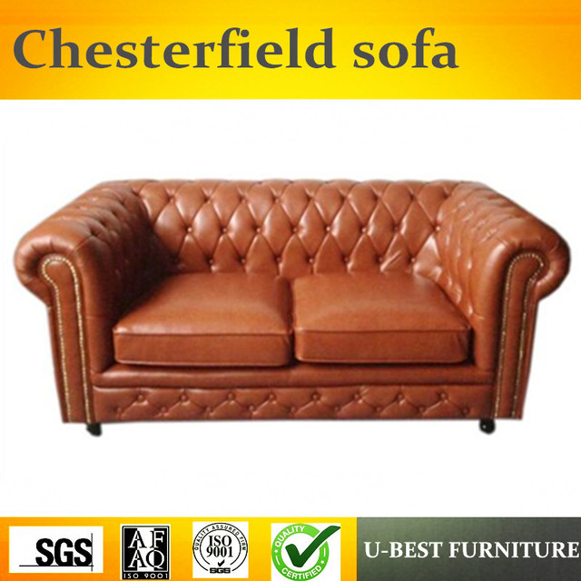 U Best The Two Person Sofa Chesterfield British Pull Simple Living Room European Style Reception