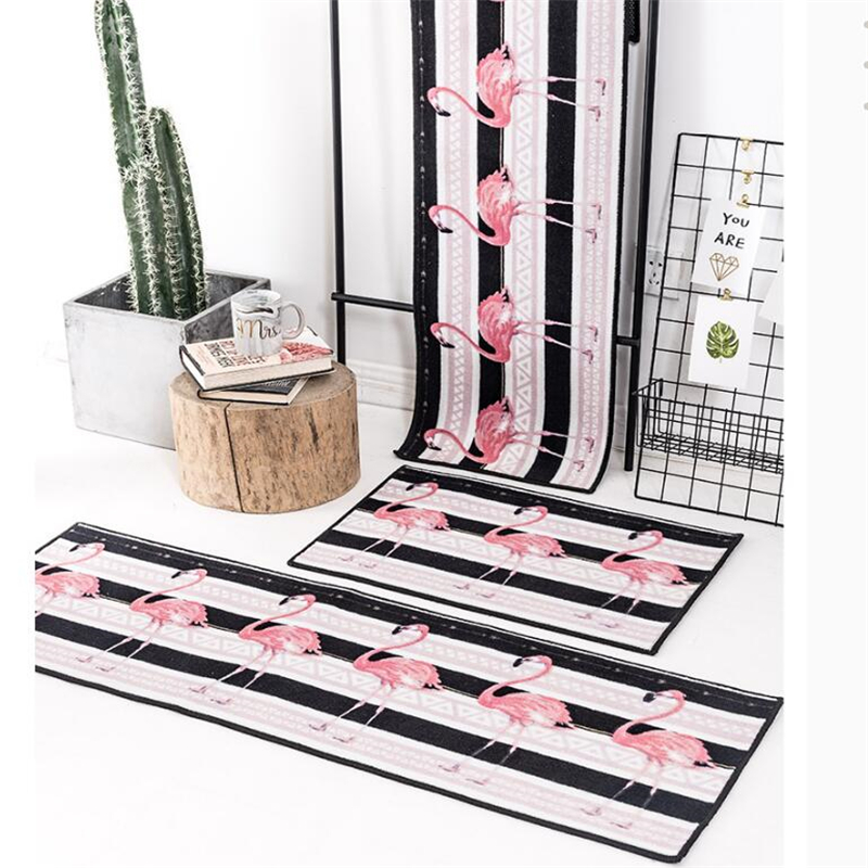 Nordic INS Rugs 40 x 120 cm Soft Modern Bedroom Area Rugs Large Carpets for Living Room Home Decor Kitchen Bathroom Door Mats