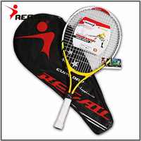 1 Pcs Teenager's Training Tennis Racket Aluminum Alloy Racquet with Bag for Chidlren New Beginners with free Carry Bag