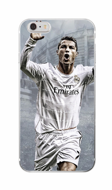 Madrid Cristiano Ronaldo CR7 Soft Printed TPU Phone Case Cover Skin Coque For iPhone 7Plus 7 6 6S 5 5S SE 5C 4 4S