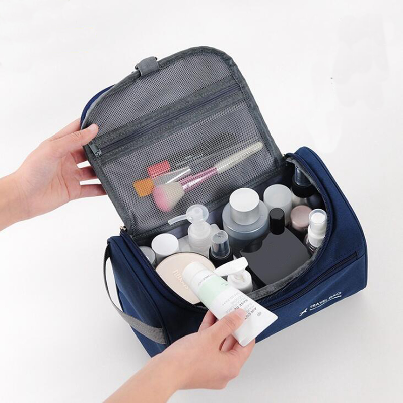 Casual Men Function Cosmetic Bag Business Make Up Case Women Travel Makeup Zipper Organizer Storage Pouch Toiletry Wash KitCasual Men Function Cosmetic Bag Business Make Up Case Women Travel Makeup Zipper Organizer Storage Pouch Toiletry Wash Kit