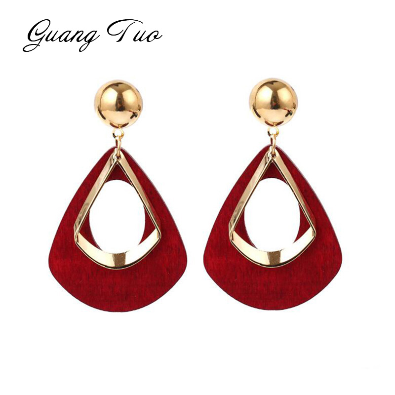 New Retro Women's Fashion Statement Earrings Earrings Wedding Christmas Gift Wholesale Boucle D'oreille Femme 2019 Brincos