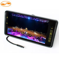 9'' TFT LCD Car Headrest Rearview Monitor Auto Vehicle Parking Assistance SD USB MP5 for Reverse Camera 2CH Input
