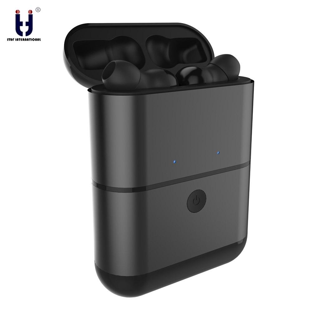 ITUF X2 TWS Mini Auricolari Vero Wireless Sport Auricolari Bluetooth Stereo Vivavoce Auricolare Per Il Telefono Mobile della Mela IPhone Xiaomi