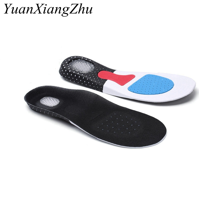 Honey deodorant insole Unisex Orthotic Arch Support Sport Shoe Pad Sport Running Gel Insoles Insert Cushion for Men Women P-D unisex silicone insole orthotic arch support sport shoes pad free size plantillas gel insoles insert cushion for men women xd 01