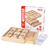 UTOYSLAND Sudoku Cube Number Game Sudoku Puzzles for Kids Jigsaw Puzzle Table Game Children Learning Educational Toys