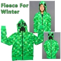 1pcs Chidlren  boy's 2017  Spring &Winter Outerwear  green grid coat 593