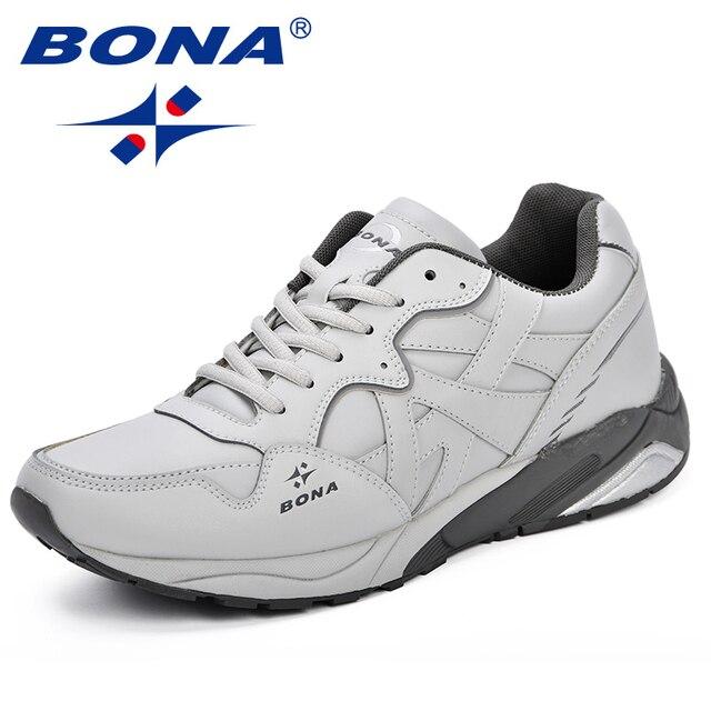 BONA New Classics Style Men Tennis Shoes Lace Up Men Sport Shoes Quality Comfortable Non Slip
