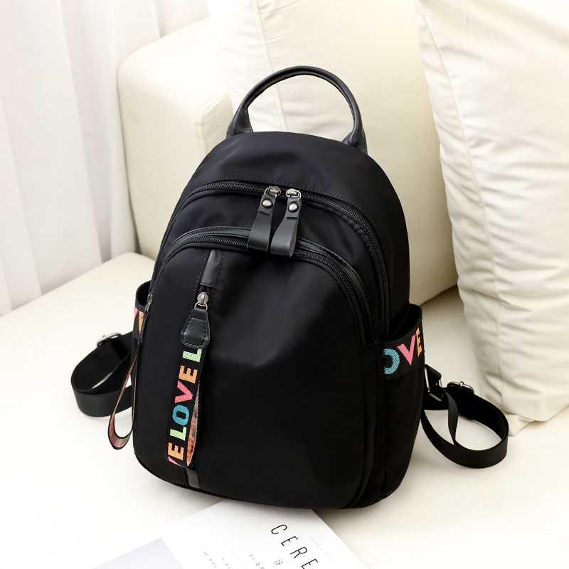 Oxford cloth shoulder bag 2019 new women s fashion wild bag canvas travel female small backpack