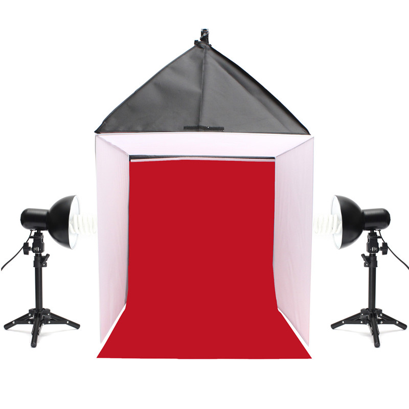 60x60x60 cm Foto de Estudio Fotografía Caja de Luz Softbox Shooting de La Cámara
