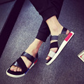 2016 summer men's sandals slippers personality  men Beach shoes lovers tide cool shoes