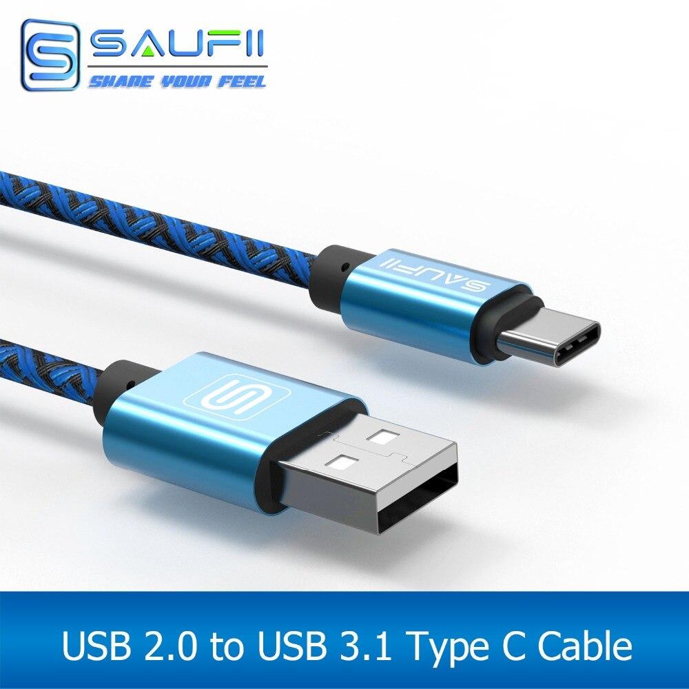 Aliexpress.com : Buy SAUFII Type C Cable for Oneplus 2 ZUK Z1 Z2 ...