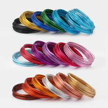 5 Meters / Roll of 2mm Aluminium Craft Floristry Wire For Jewellery Beading Maki