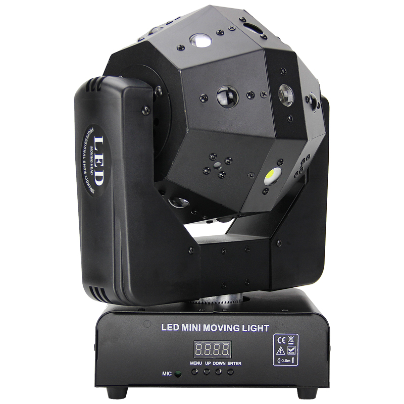 Fast Shipping 16*3W RGBW Led Stage Effect Laser Football Light Beam Strobe Laser 3 In I Projector For Dj Disco Moving Head