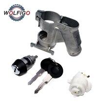 WOLFIGO зажигание рулевого замка цилиндровый переключатель для VW T25 транспортер гольф поло Passat Jetta audi 80 90 251905855B 111905865L