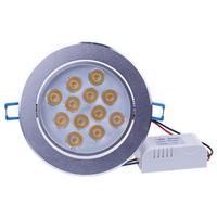 High Power 12 Watt Led Downlights AC85 265V FÜHRTE Decke Downlight Führte Decke Lampe Home Innenbeleuchtung mit led stick Freies verschiffen|LED-Downlights|Licht & Beleuchtung -