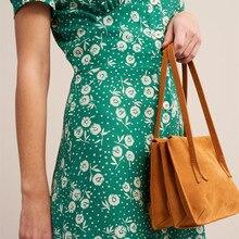 Three-layer retro hand bag female spring new simple fashion