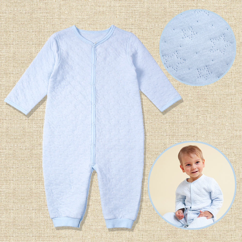 i-baby Premium Matelasse PIMA COTTON Baby   Romper   Cashmere Like Cotton Outfit Long Sleeve Newborn Cloth, Packed in Box