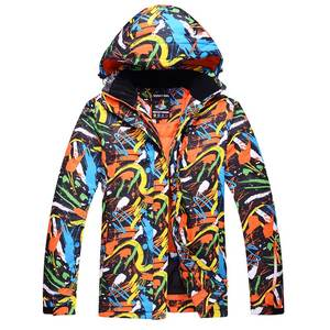 Snowboard Suit Ski-Jacket Waterproof Winter Sportswear Outdoor And Breathable Men Professional