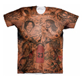JR Smith Tattoos T-Shirt Men Women Hipster 3D t shirt Vintage Indian Tribe Tattoo Prints t shirts Swag Harajuku Tee Shirt Tees