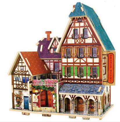 Kits de construction de modèle d'architecture du monde du puzzle 3D - Jeux et casse-tête - Photo 4