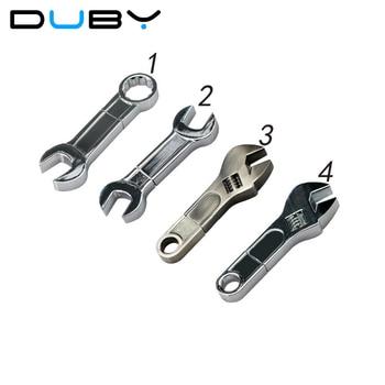 Metal Wrench USB Flash Drive Thumb Memory Stick 2GB 4GB 8GB 16GB 32GB Flash Pen Drive