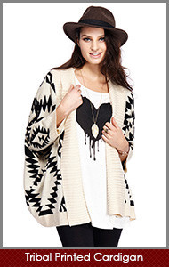 Tribal-Printed-Cardigan